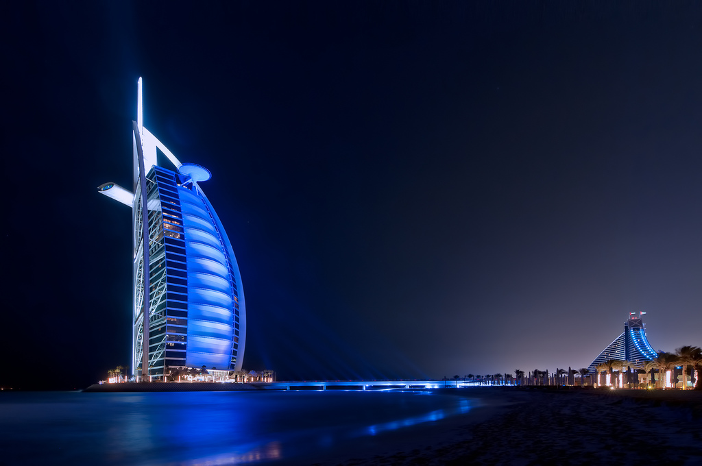 Foto dell'hotel Burj Al Arab a Dubai