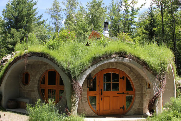 20 case hobbit in stile classico e moderno for Construire une maison de hobbit