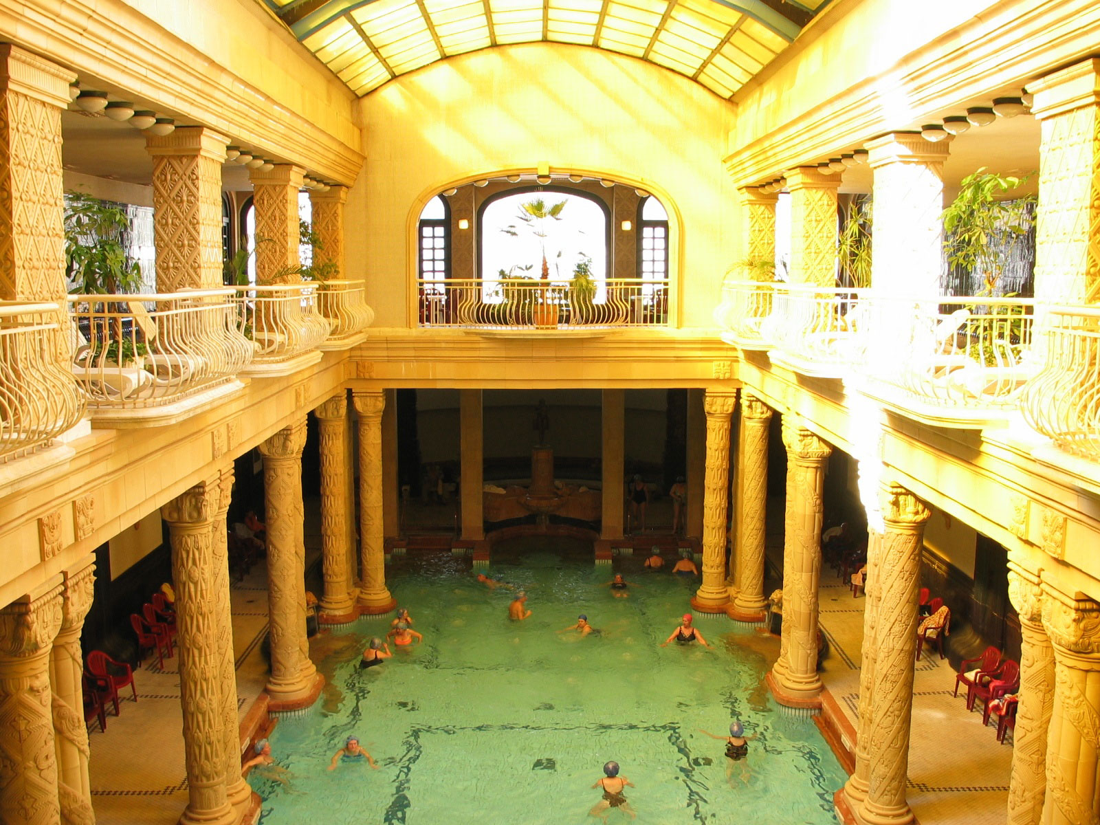 Piscina di lusso Gellert Thermal Baths