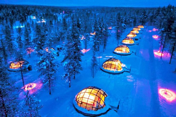 Hotel di ghiaccio Kakslauttanen igloo village