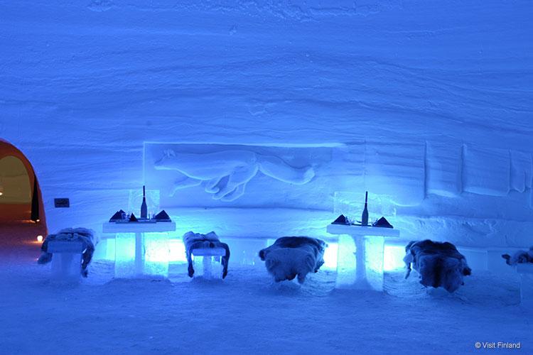 Hotel di ghiaccio Lainio snow village