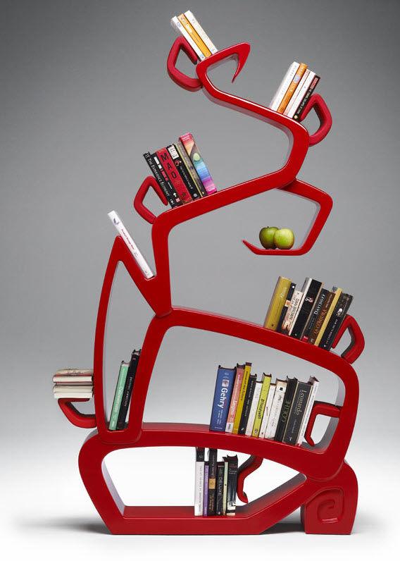 Libreria dal design originale n.04