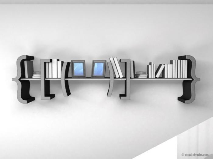 Libreria dal design originale n.15