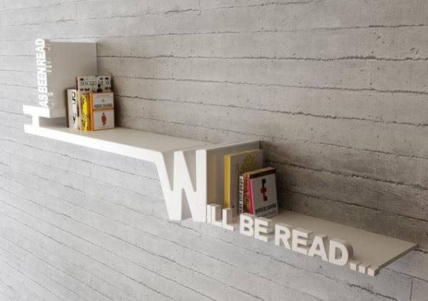 Libreria dal design originale n.17