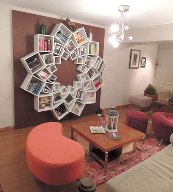Libreria dal design originale n.18