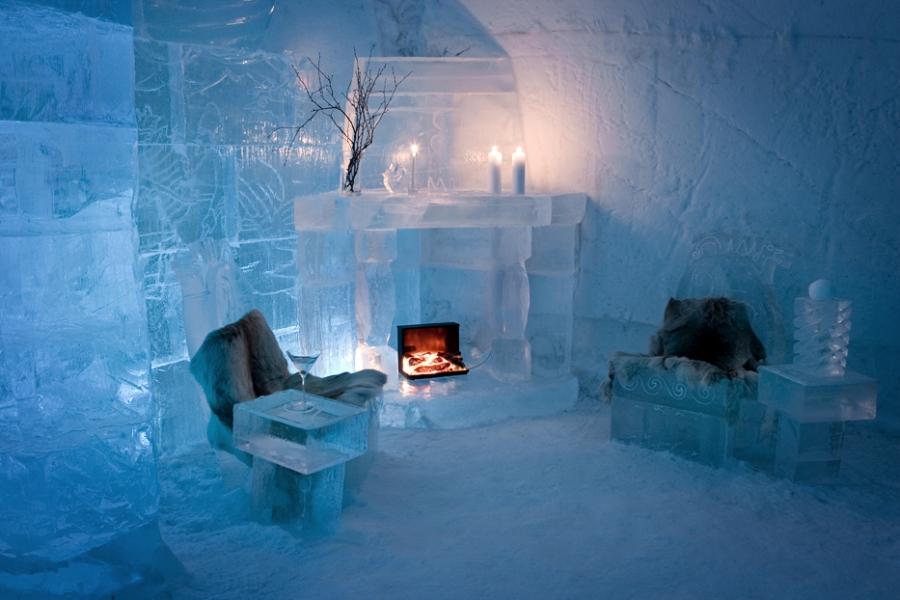 Hotel di ghiaccio Snow Village Finland