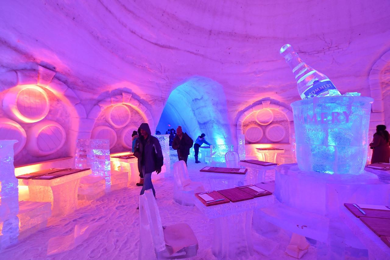 Hotel di ghiaccio snow village