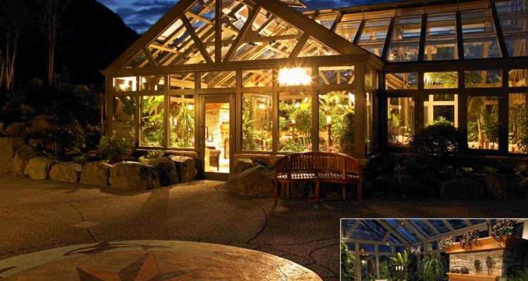Foto della serra da giardino in vetro n.01