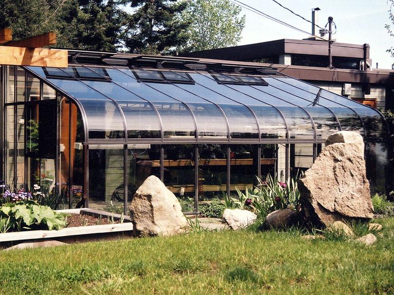 Foto della serra da giardino in vetro n.11