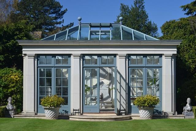 Foto della serra da giardino in vetro n.12