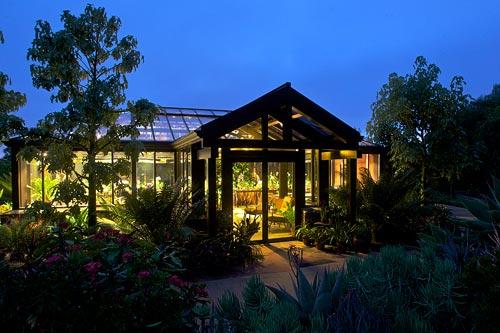 Foto della serra da giardino in vetro n.17