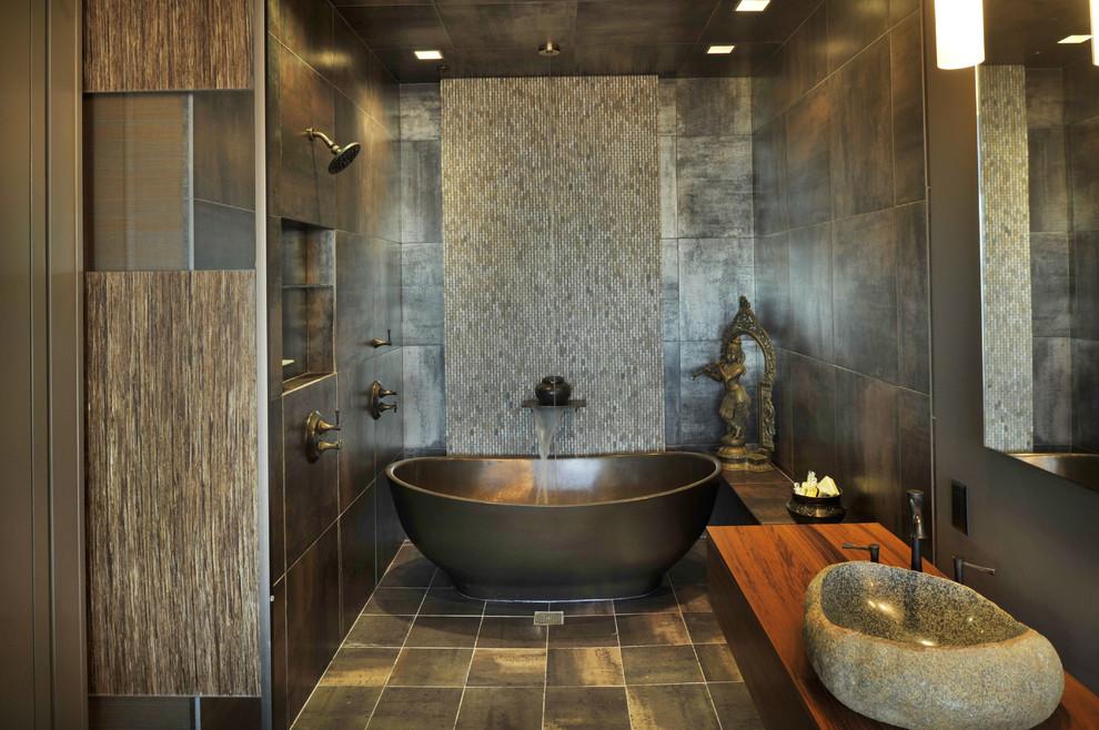 Foto del bagno in stile zen n.03
