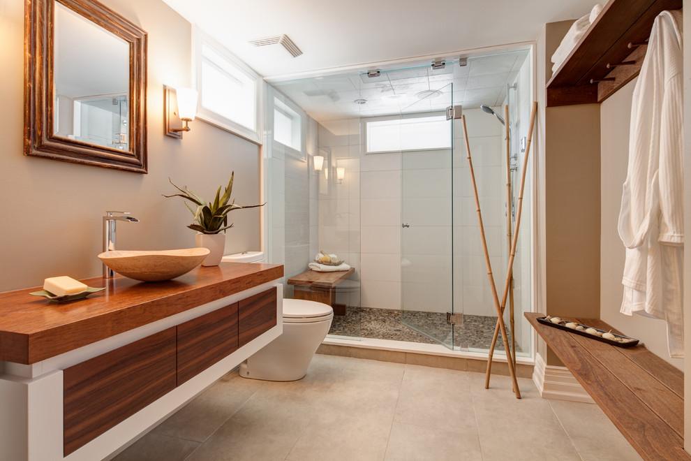 Foto del bagno in stile zen n.05