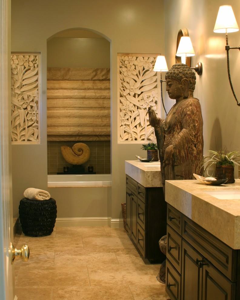 Foto del bagno in stile zen n.06