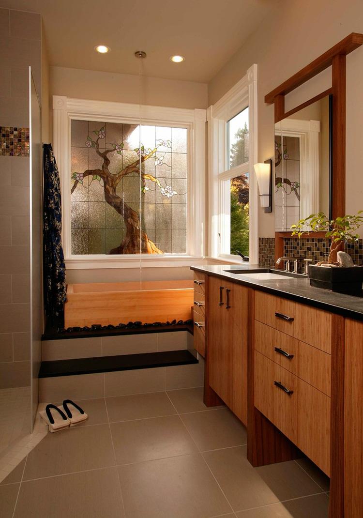 Foto del bagno in stile zen n.10
