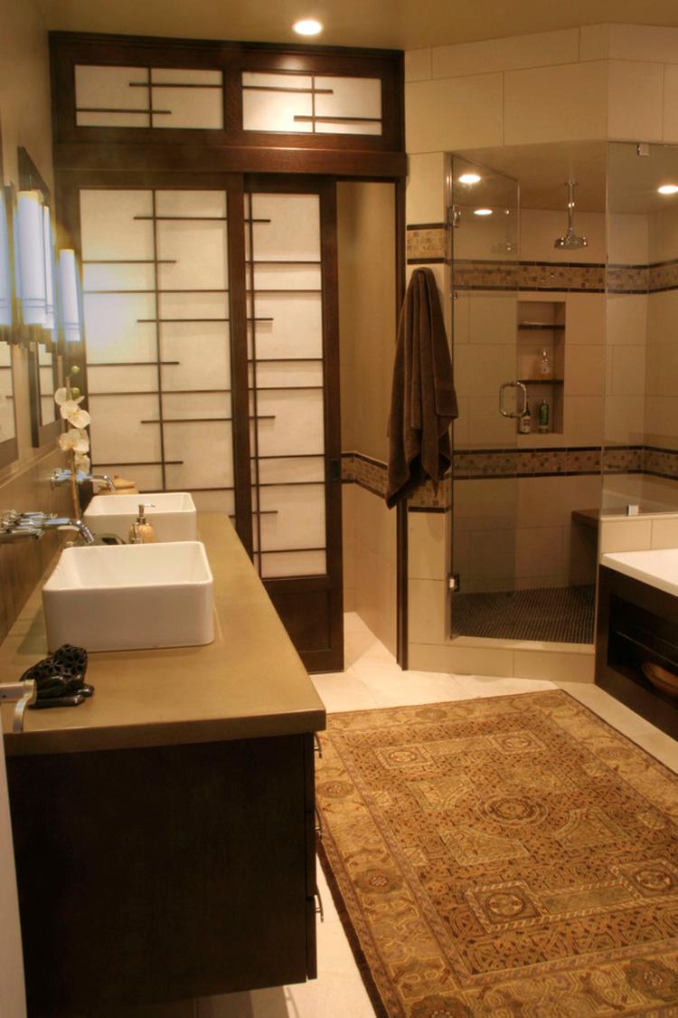 15 bagni moderni con design in stile zen - Bagno giapponese ...
