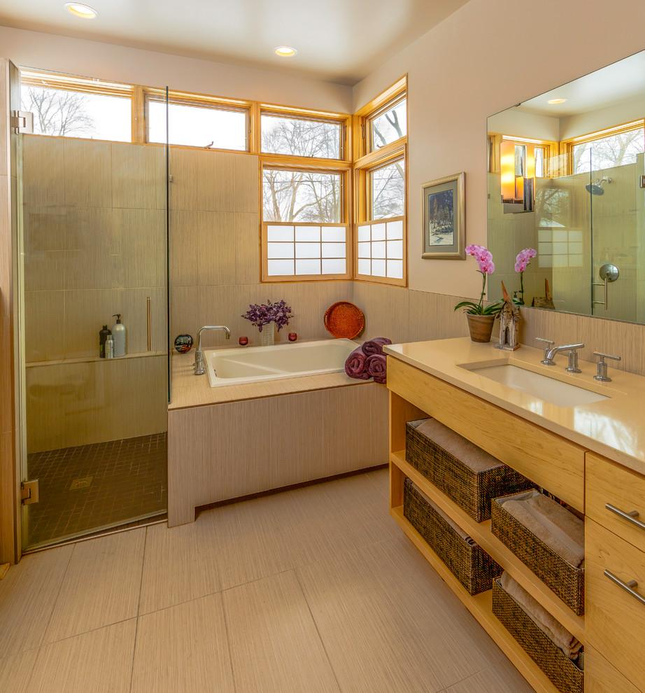 Foto del bagno in stile zen n.13