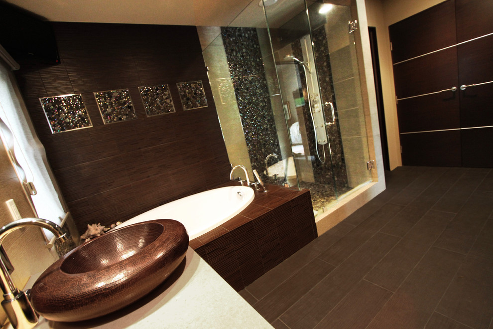 Foto del bagno in stile zen n.15