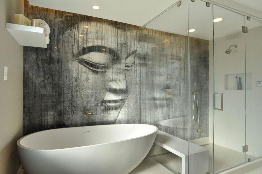 Bagno moderno in stile zen n.18