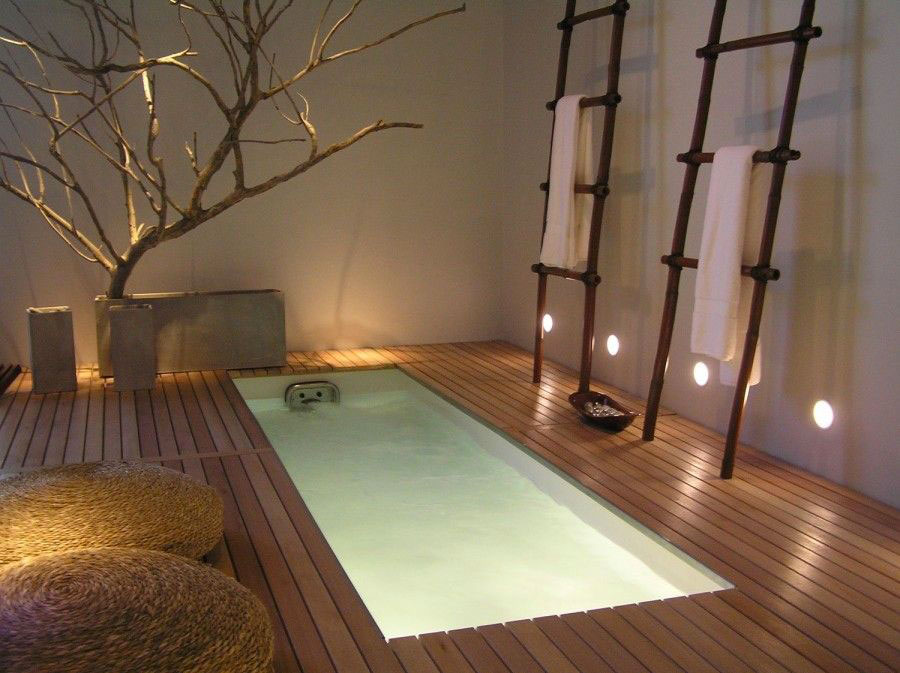 Bagno moderno in stile zen n.19