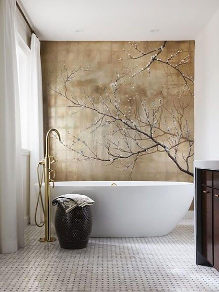 Bagno moderno in stile zen n.33
