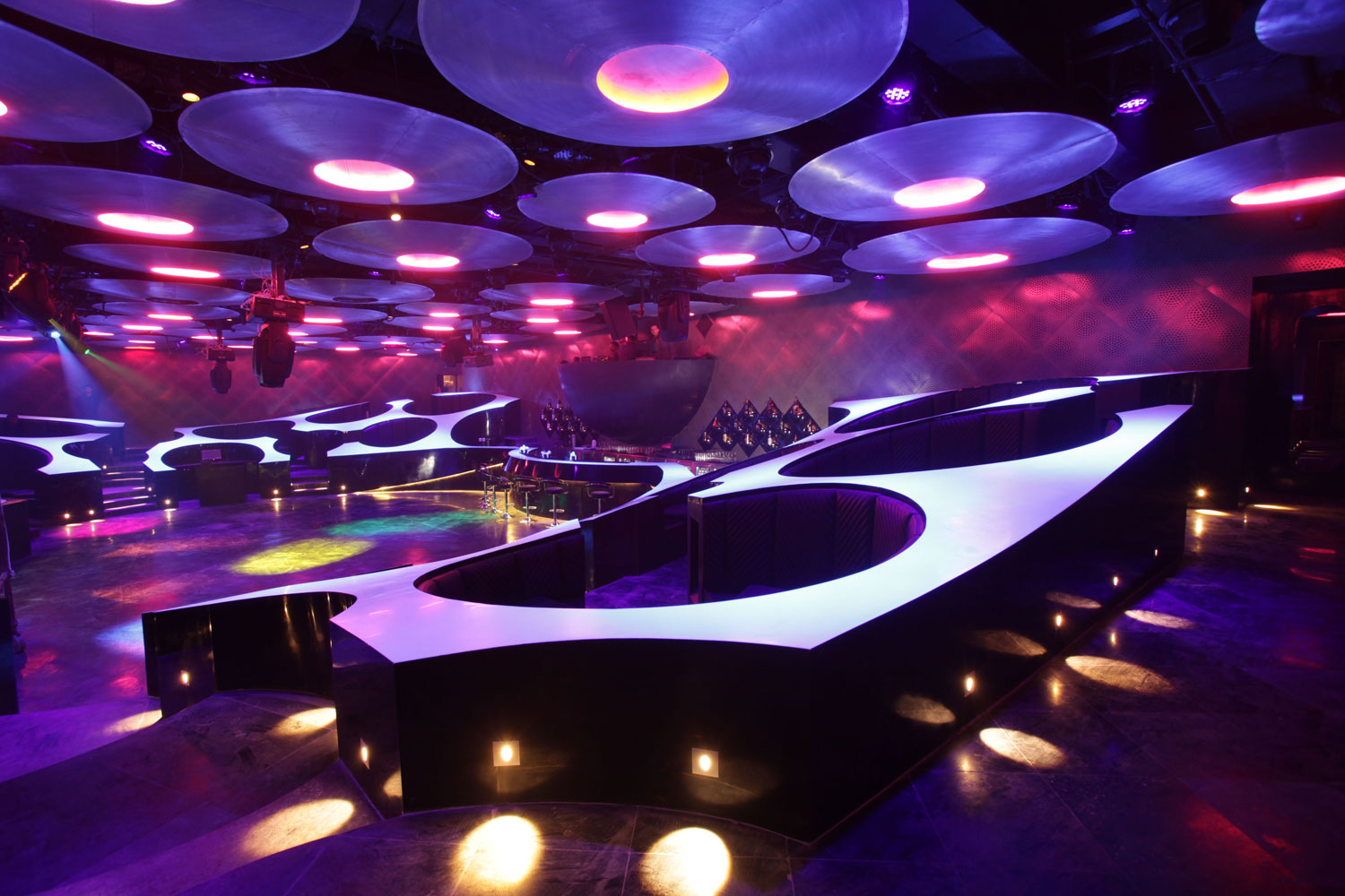 Arredamento del bar Blue Frog Lounge in India