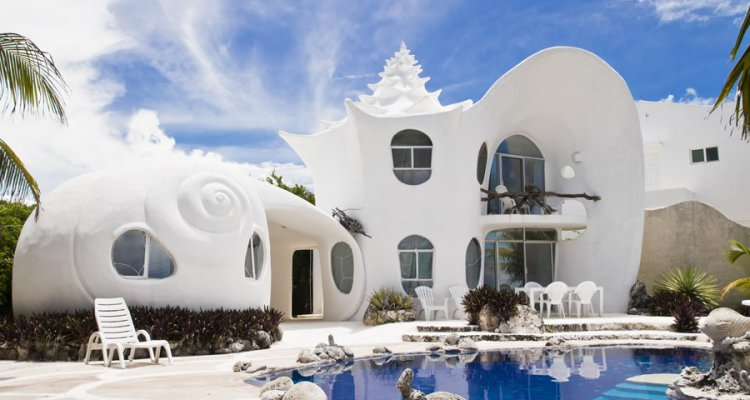 Le 17 case pi strane che sembrano uscite dalle favole for Design della casa di 750 piedi quadrati