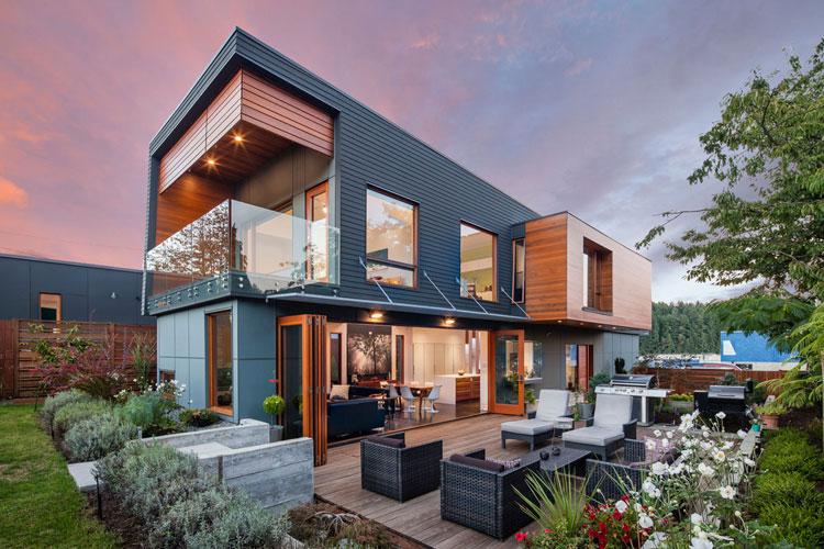 20 stupende case dal design moderno for Case bellissime moderne
