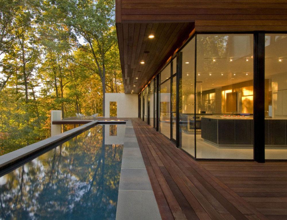30 foto di case moderne costruite nei boschi for Foto di case