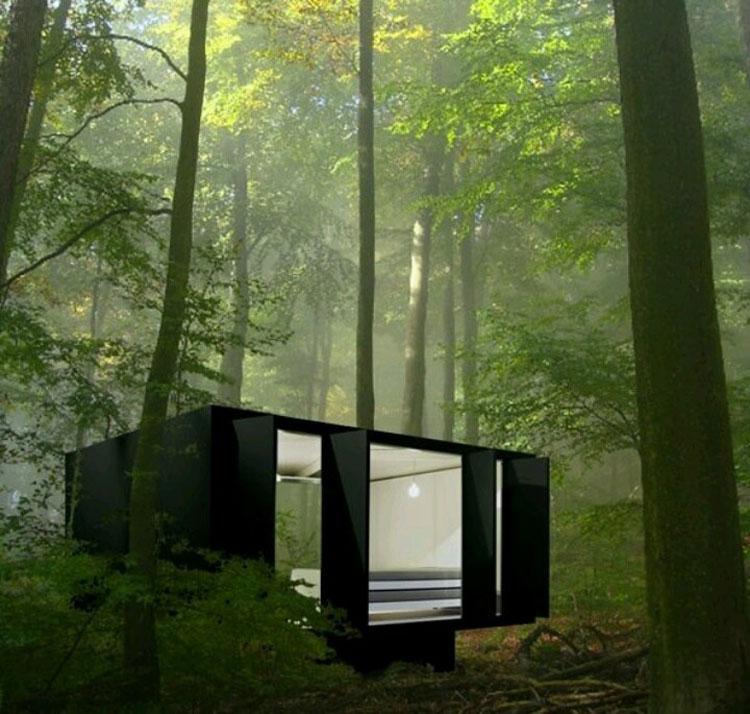 Casa da sogno nei boschi n.05