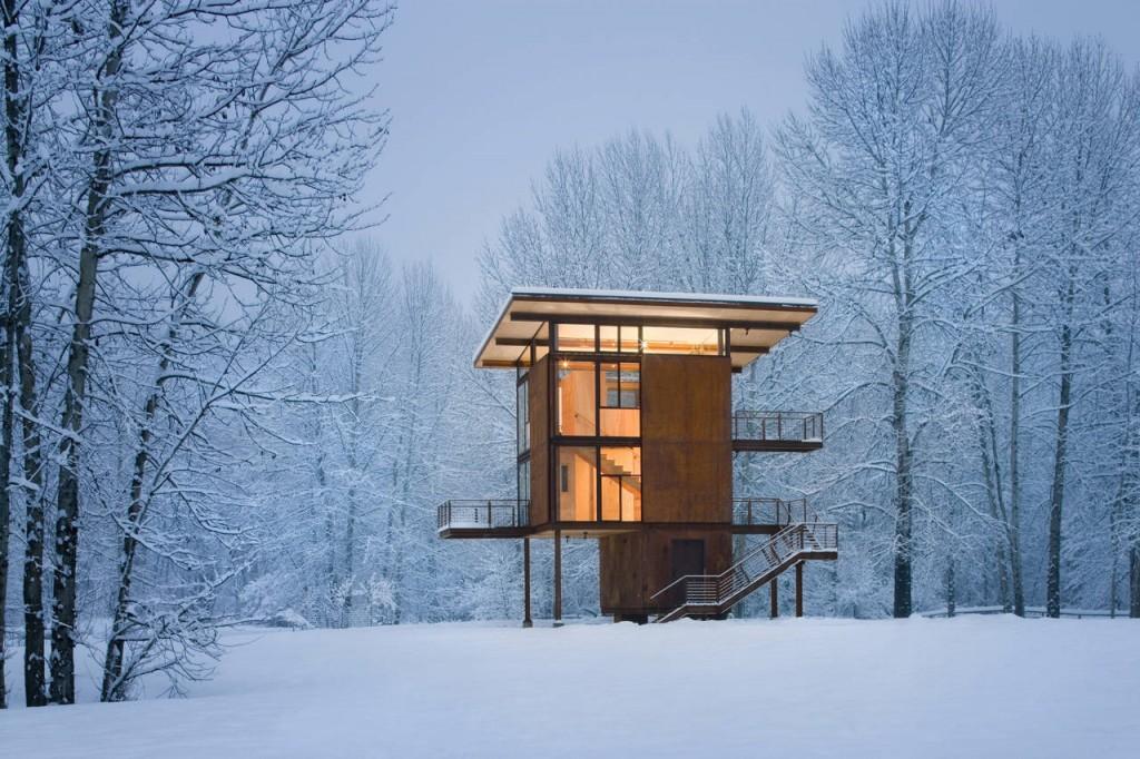 Casa da sogno nei boschi n.12