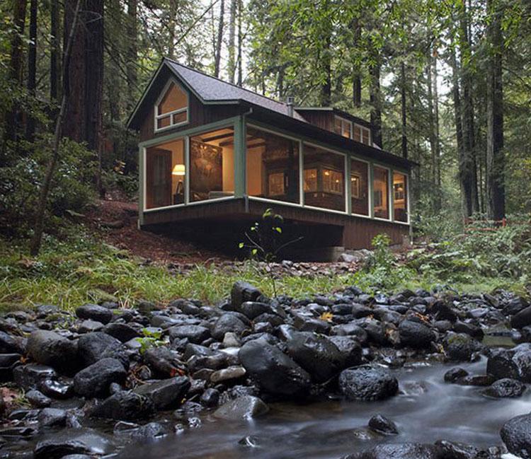Casa da sogno nei boschi n.22
