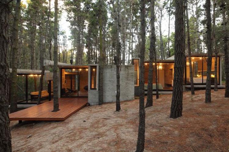 Casa da sogno nei boschi n.25