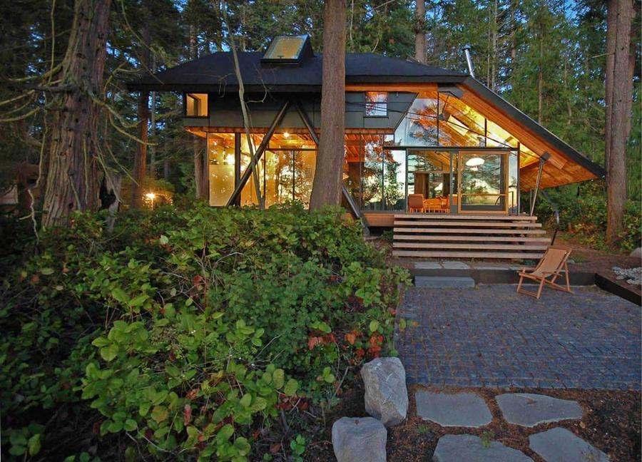 Mini Log Cabin