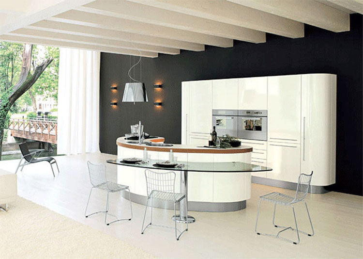 30 Cucine Moderne con Isola Centrale  MondoDesign.it