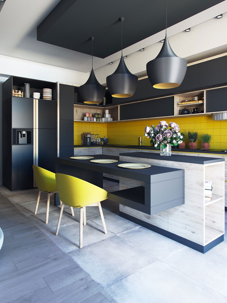 50 Cucine Moderne Con Isola Centrale Mondodesign It
