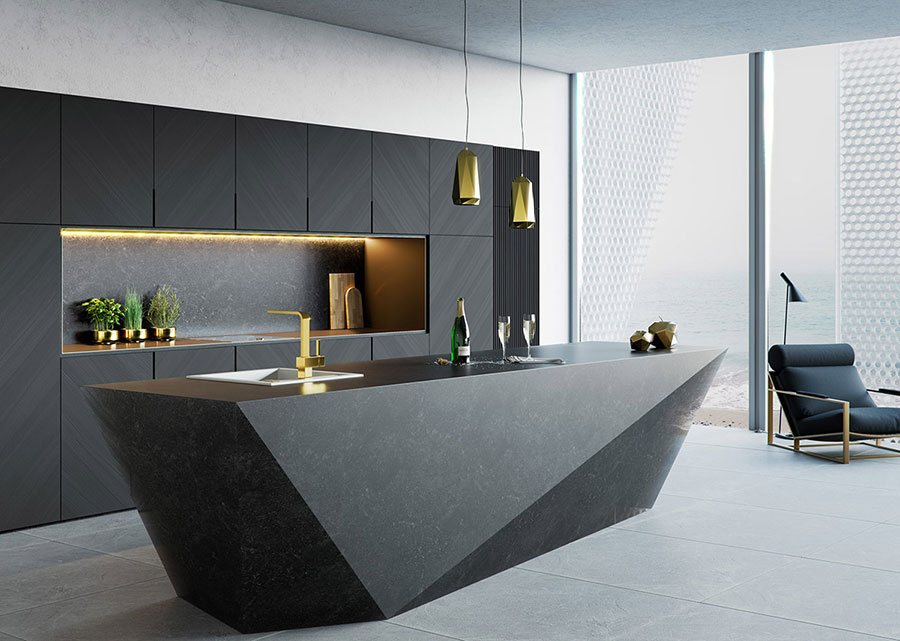50 cucine moderne con isola centrale for Cucina ad isola