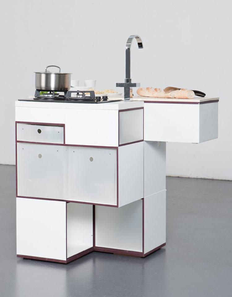 Foto della cucina Carré chiusa