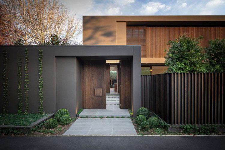 20 foto degli esterni di case moderne dal design - Ingressi case moderne ...