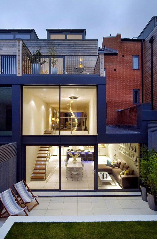 Foto dell'esterno della casa moderna n.05