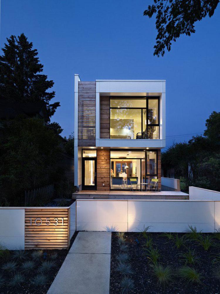 Foto dell'esterno della casa moderna n.06