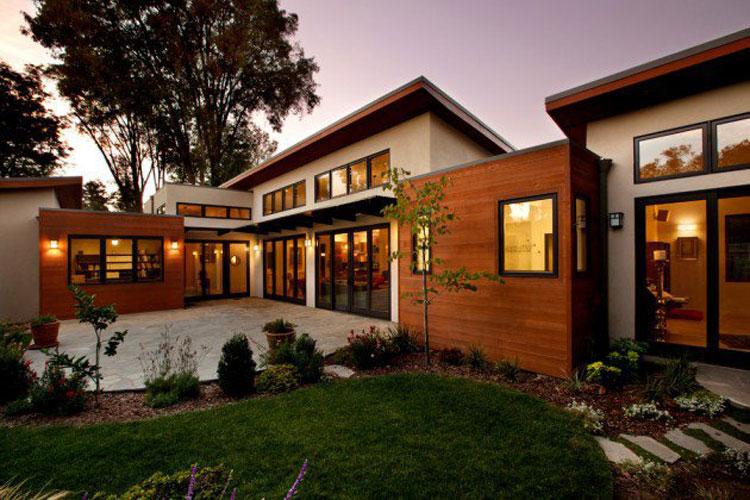 Foto dell'esterno della casa moderna n.07
