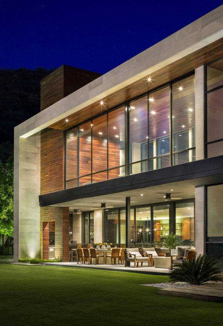 Foto dell'esterno della casa moderna n.09