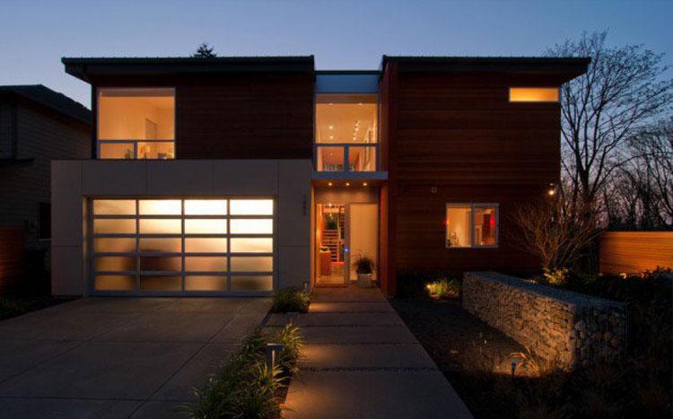 Foto dell'esterno della casa moderna n.11