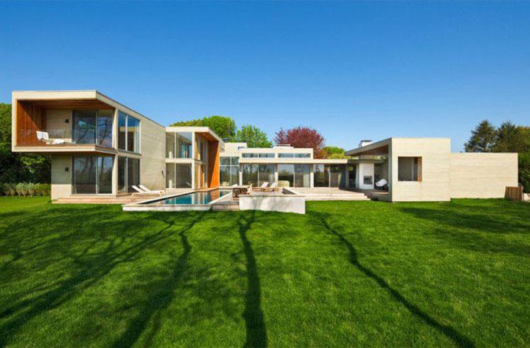 Foto dell'esterno della casa moderna n.12
