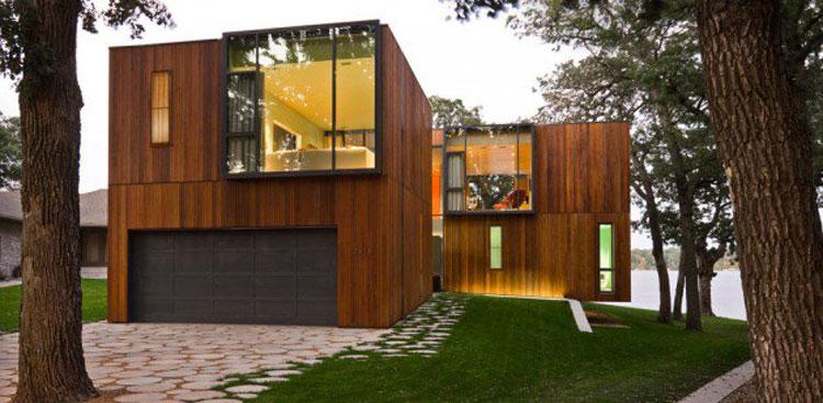 Foto dell'esterno della casa moderna n.13