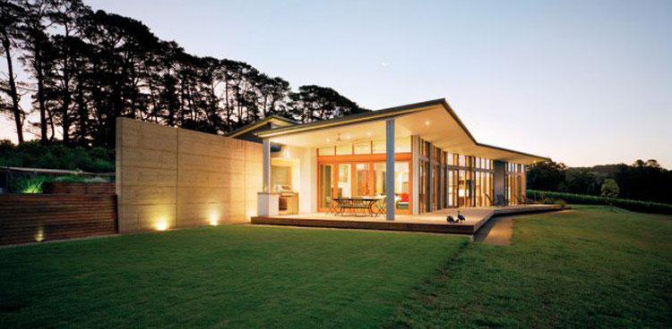 Foto dell'esterno della casa moderna n.17