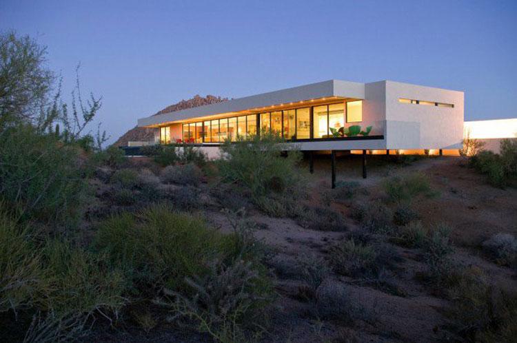 Foto dell'esterno della casa moderna n.20