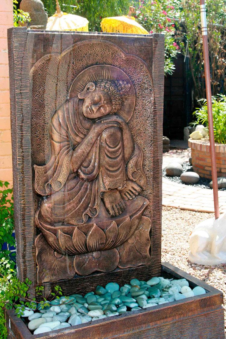 Foto della fontana in stile zen n.01