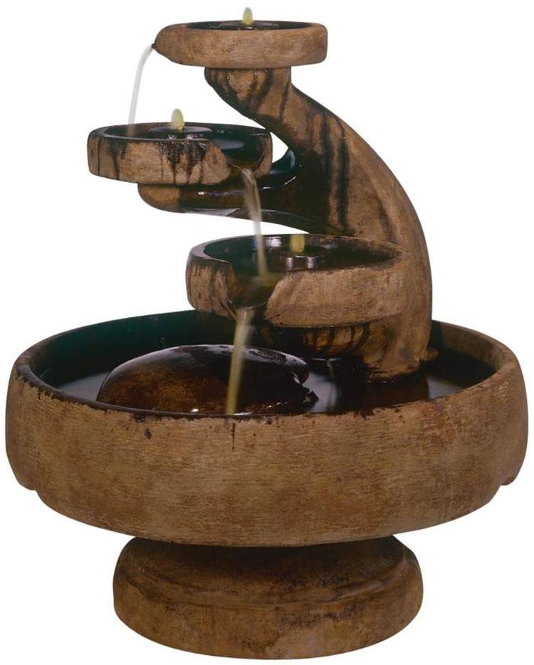 Foto della fontana in stile zen n.10